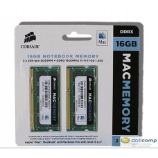 Corsair Mac Memory SO-DDR3L 1600MHz  16GB (2x 8GB)