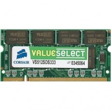 Corsair ValueSelect  SO-DDR 333MHz  512MB