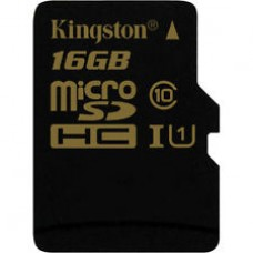 Kingston microSDHC Card  16 GB