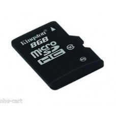 Kingston microSDHC Card  8 GB