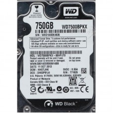 Western Digital Black Mobile  750 GB