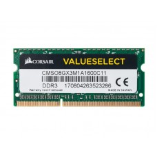 Corsair SO-DDR3-RAM ValueSelect 1600 MHz 1x 8 GB