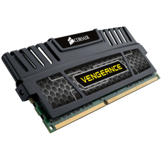 Corsair Vengeance DDR3 1600MHz  16GB (4x 4GB) Black