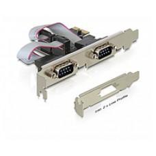 Delock Serial 2 Port PCIE Express Card