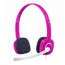 Logitech H150 Stereo Headset Fuchsia Pink
